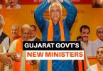 Council of Minister in Gujarat September 2021